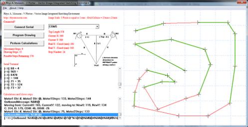 V-plotter Control software