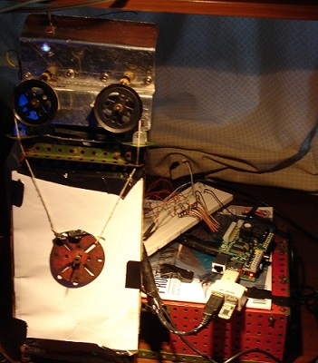 Raspberry Pi Stepper Motor
